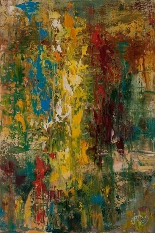 Flash. 70 50. Oil Canvas. 2014  - tanya_vasilenko | ello