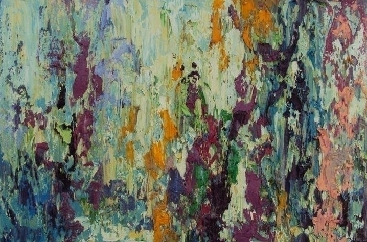 Abstraction 40 60. Oil Canvas.  - tanya_vasilenko | ello