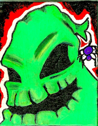 4 5 mini canvas Oogie Boogie Ni - ashleywilliams-1156 | ello