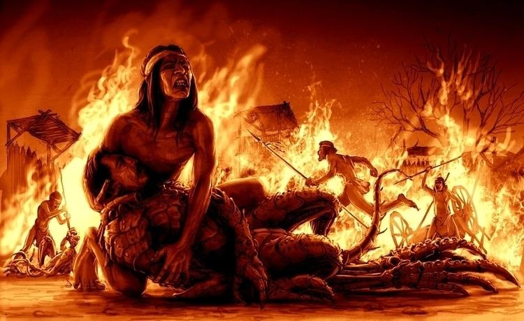 Deadh: Leftraro tears mix blood - cristianmonteslynch | ello
