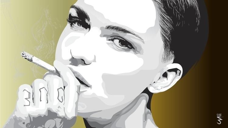 Ruby Rose - illustration, characterdesign - artespraticas | ello