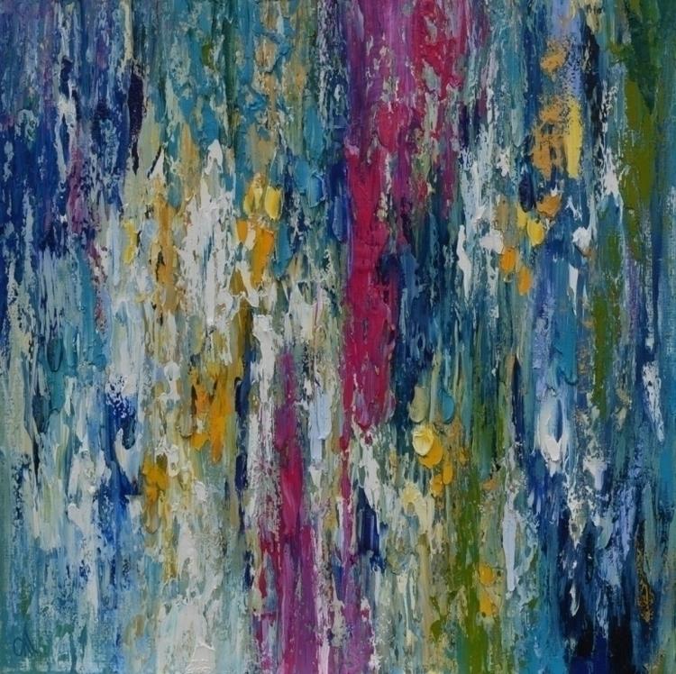 Abstraction 120 120. Oil Canvas - tanya_vasilenko | ello