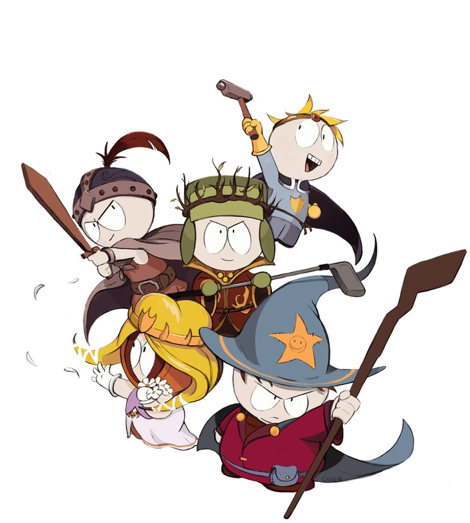 southpark, illustration, carriehankins - carriehankins | ello
