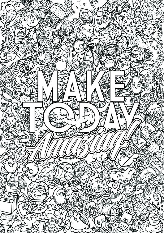 Today Amazing - illustration, characterdesign - irvindoodles | ello