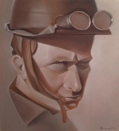 Fangio - JuanManuelFangio, portrait - fabio_p_corazza | ello