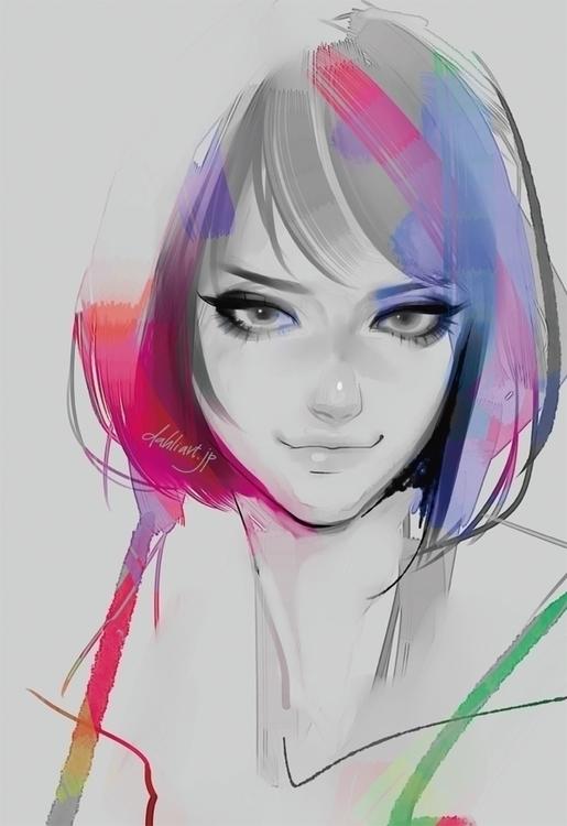 Colors - digitalillustration, illustration - dahliart | ello