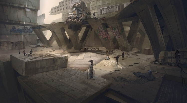 scifi, environment - chengeling | ello
