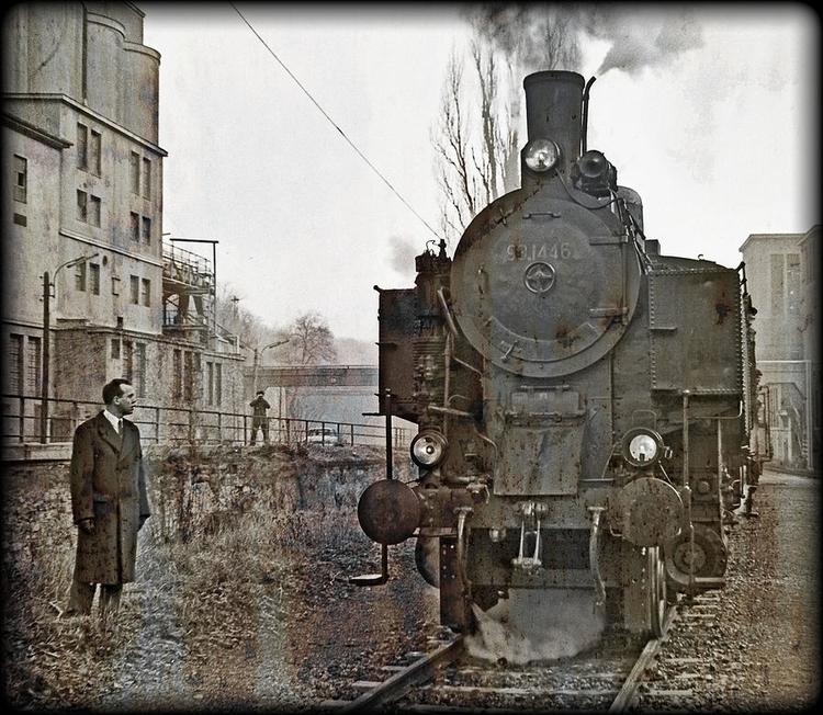 steam locomotive Austrian Feder - leo_brix   ello
