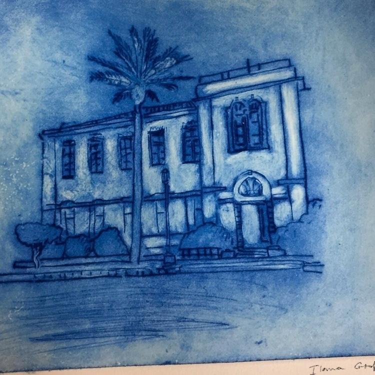 etching paper - printmaking, print - ilanagraf | ello