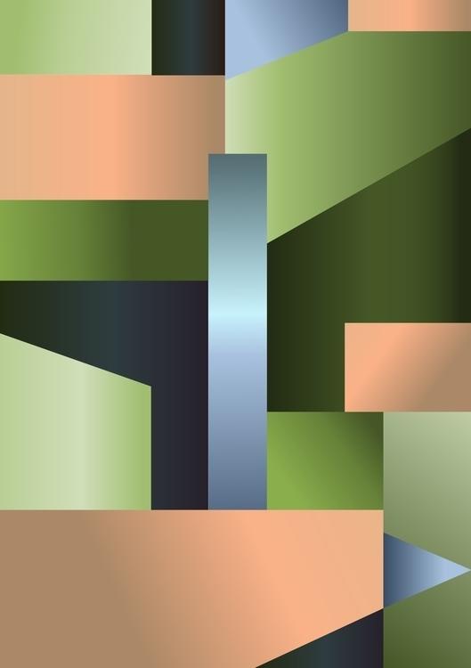 Graphic sketch Simple geometry - mariiakozina | ello
