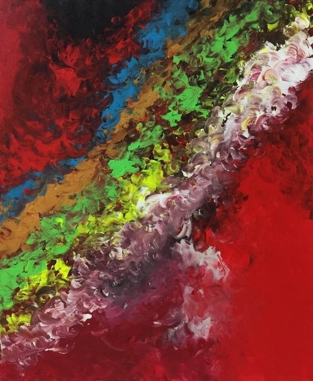 road.60.6×50cm acrylic canvas - painting - shuntodoroki | ello