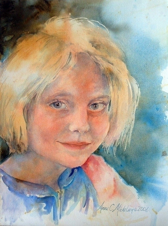 Good Morning Clara - watercolor - brightspirit | ello