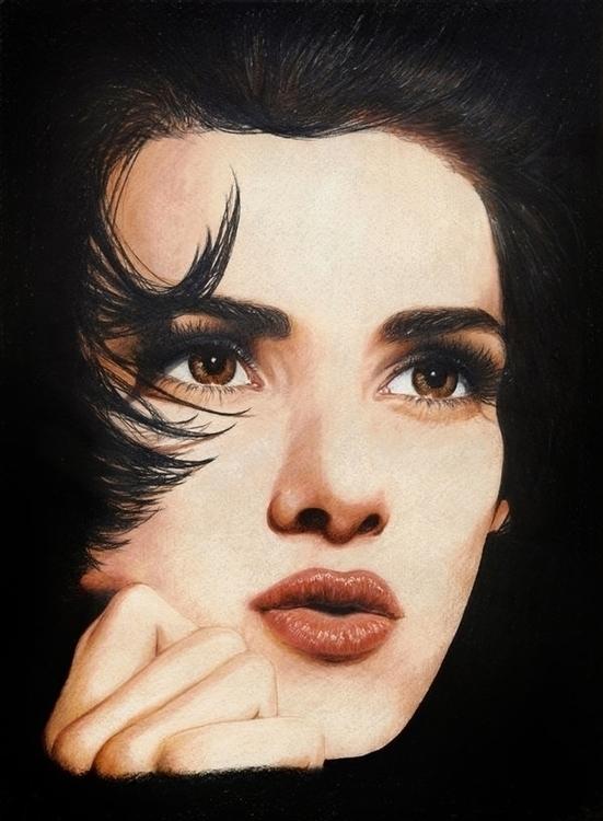 Photorealistic portrait Winona  - vame | ello