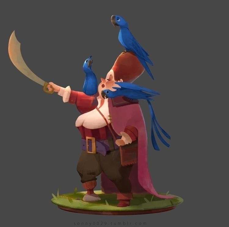 Pirate character design challen - sonny-2874 | ello