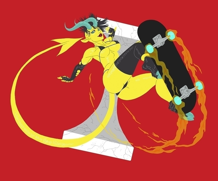devil, shedevil, anime, manga - fredericoescorsin | ello
