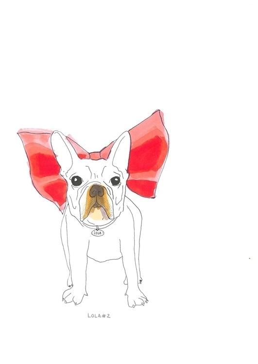 Lola 2 - illustration, drawing - lulu_baldrac | ello