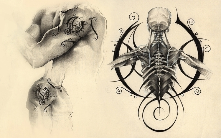 tattoo, illustration, drawing - danielreyes-5557 | ello