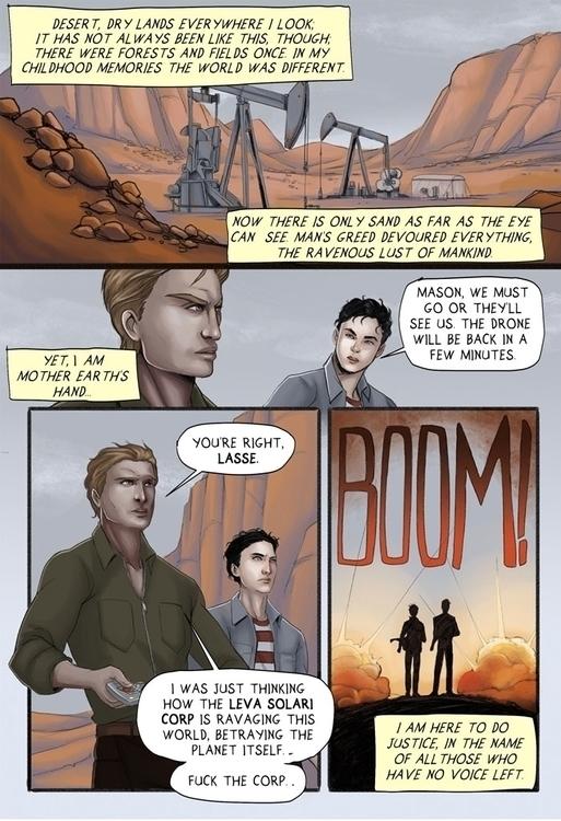 Samsara: gay themed webcomic aw - manuelasoriani | ello