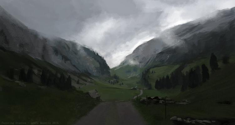 1 hour painting - Switzerland - switzerland - ultrasqull | ello