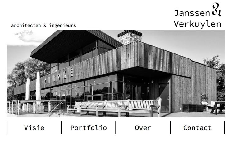 Janssen Verkuylen website - webdesign - pixelpakhuys | ello