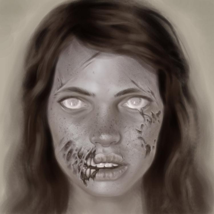 zombie, girl - lisaayla | ello