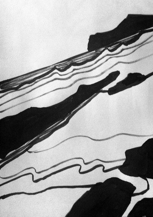 sea - ink, paper - mariakostareva | ello