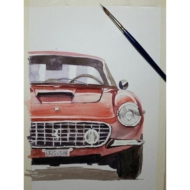 illustration car paint woth wat - artolgash   ello