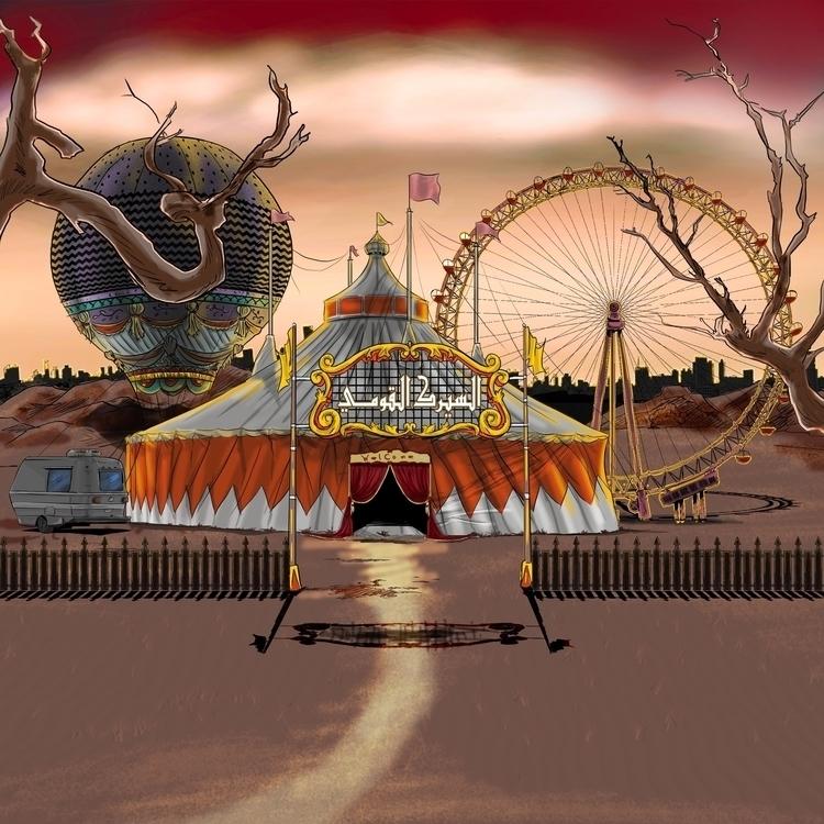 circus, Rofat El-shahhed motion - mahmoudswielam | ello