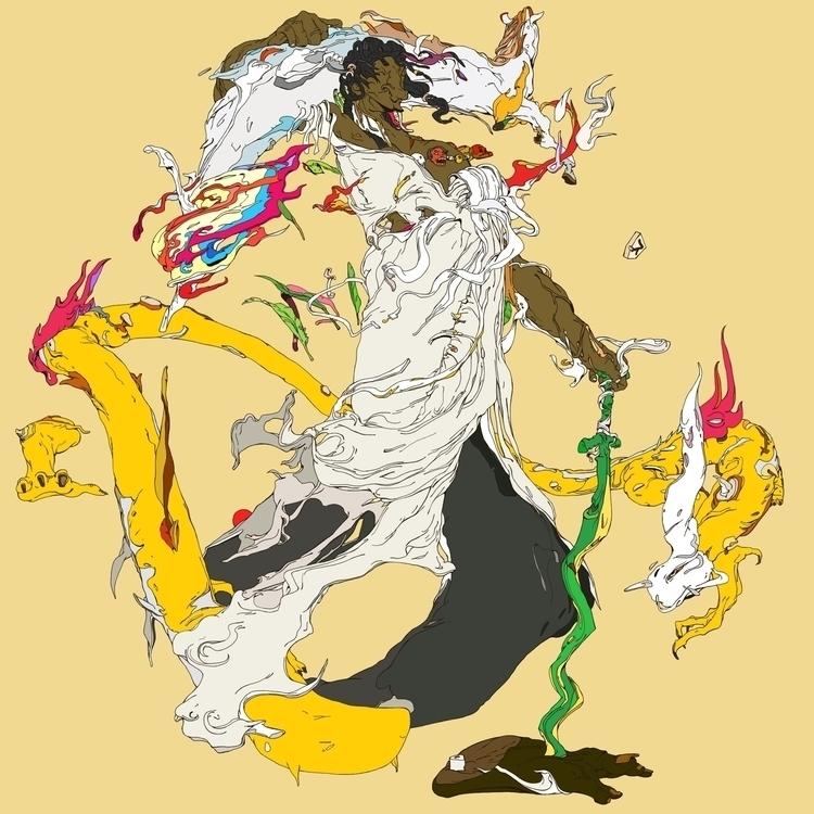 SUSANOWO - ghost, horse, dragon - kasiminami | ello