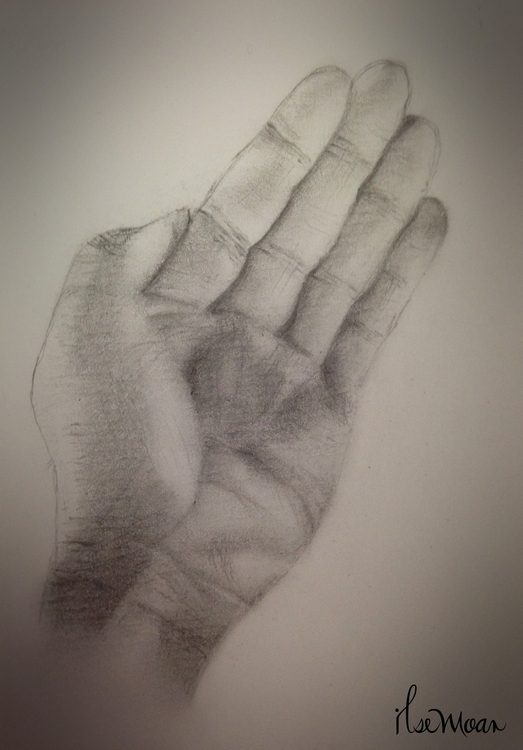 LEFT HAND - illustration, drawing - ilsemoar | ello