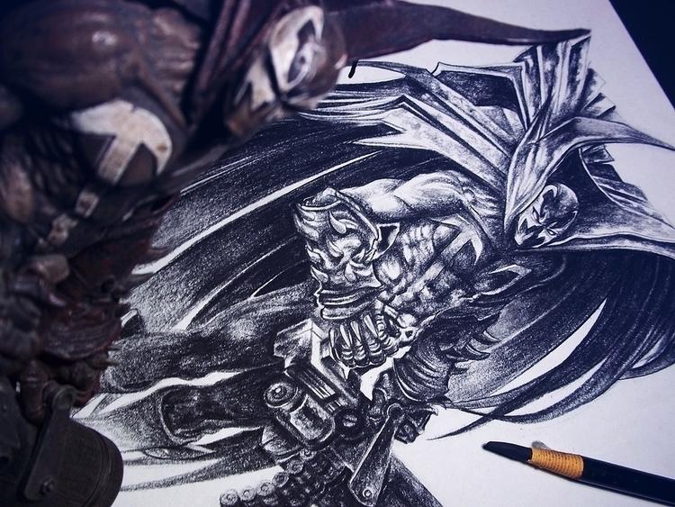 illustration, drawing, spawn - danielreyes-5557 | ello