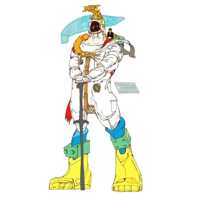 TSUKUYOMI - sword, legs, keyboard - kasiminami | ello