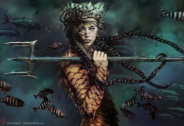 Seaborn cover art - mermaid, seaborn - chrishoward | ello