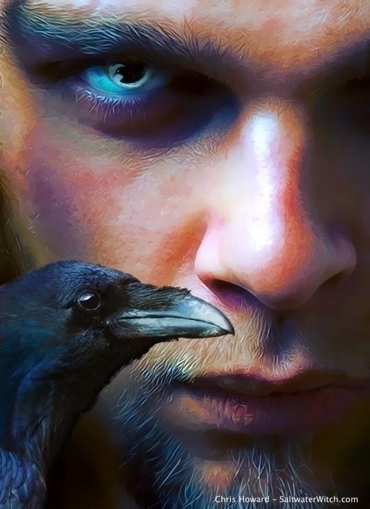 Wine Ravens Cover Art - raven, bookcover - chrishoward | ello