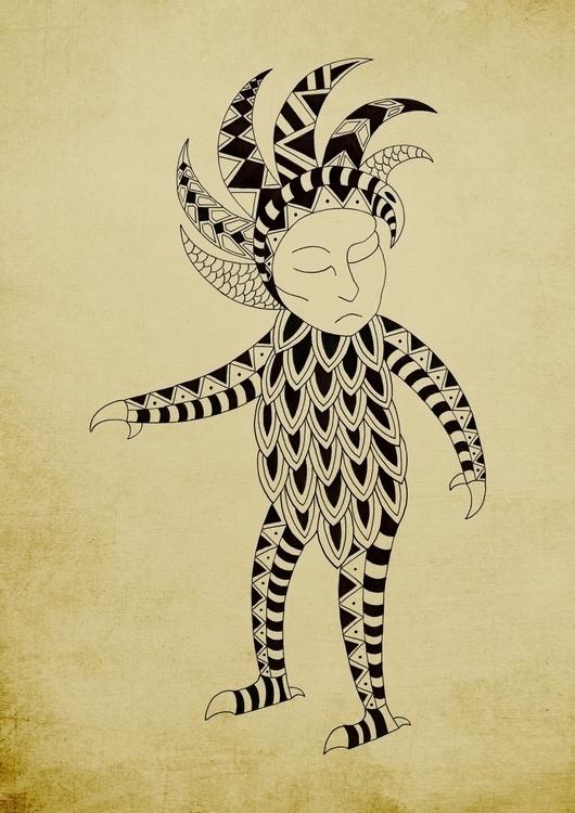 Monstere - 6, illustration, drawing - gianbautista-3099 | ello