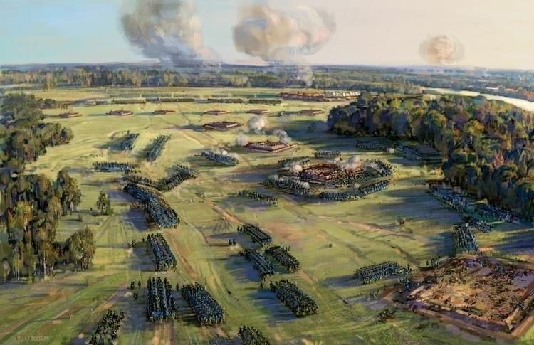 Battle Poltava 27 June 1709 (be - art_bat   ello