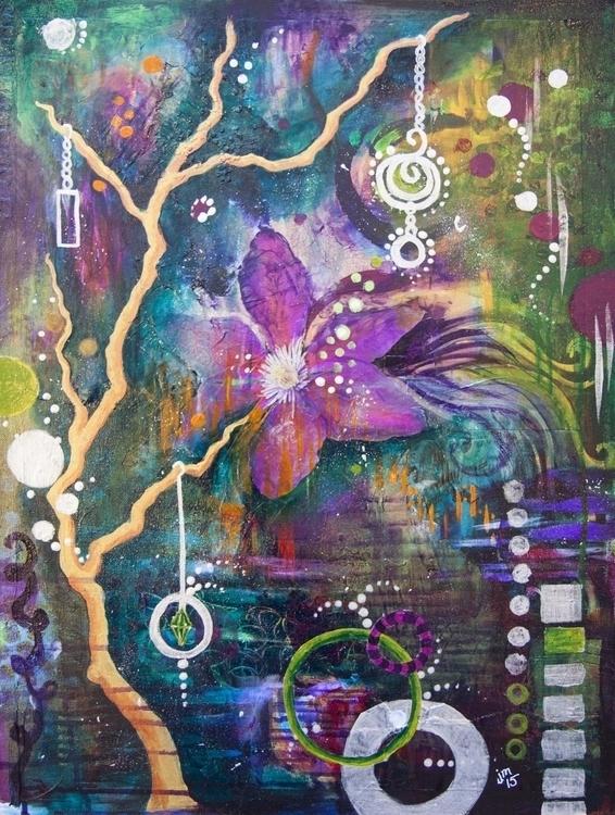 Dream Weaver - painting, abstractpainting - jennifermagel | ello