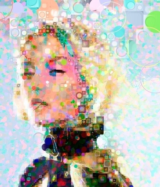 Polygirl 02 - VectorArt, DigitalIllustration - vantage-9372 | ello