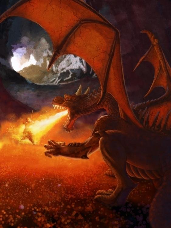 Dungeon Master story illustrati - bhaarer | ello