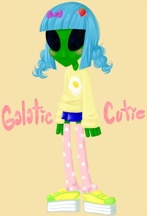 galatic cutie style world - aliens - heylins   ello