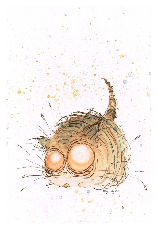 Muffin (cat - illustration, children'sillustration - morganofsharick | ello