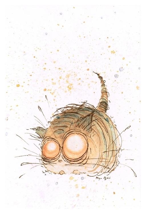 Muffin (cat - illustration, children'sillustration - morganofsharick   ello