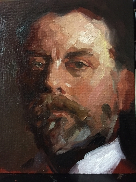 Sargent master copy classes tea - jen_art | ello