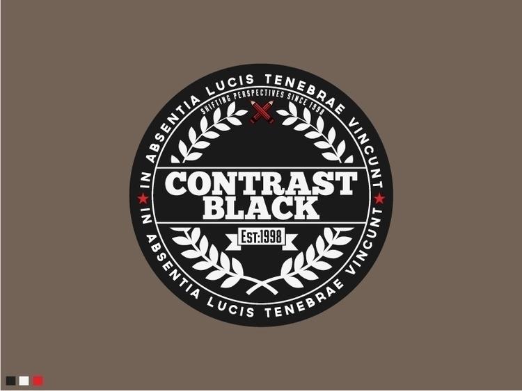 Contrast Black Logo Design - logo - sztufi | ello