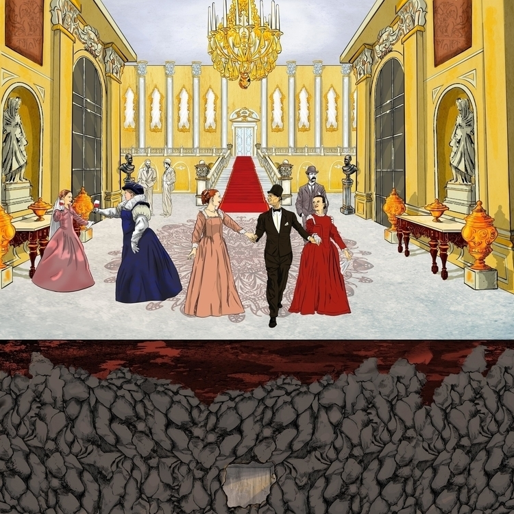 palace party, Rofat El-shaheed  - mahmoudswielam | ello