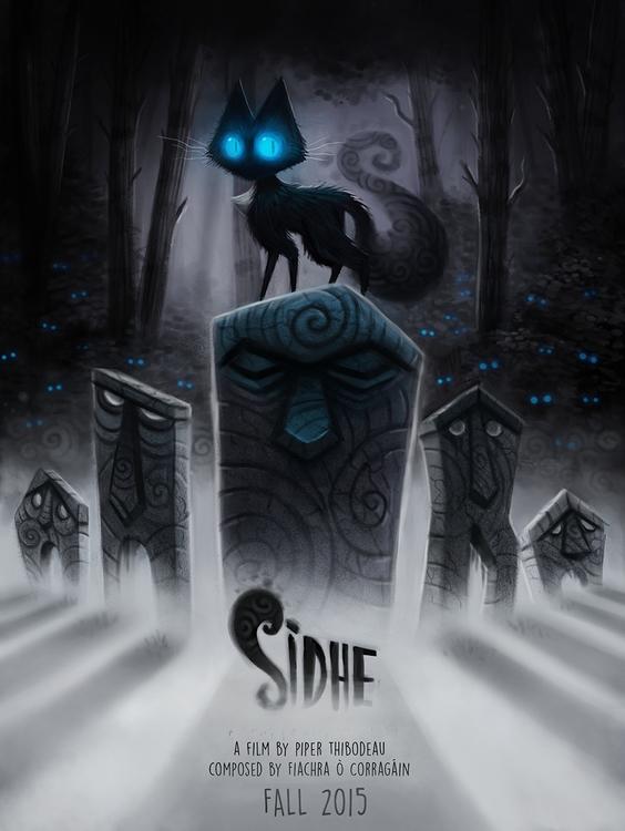 Poster short film, Sidhe - piperthibodeau | ello