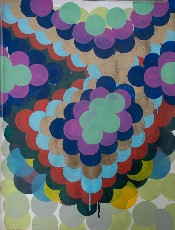 Idiolect - spot, painting, pattern - mariekaz | ello