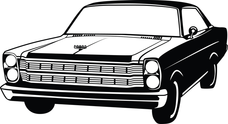 illustration 1966 Ford Galaxie - katiewaye | ello