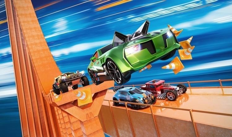Hot Wheels 2015 Promo Poster - toys - bmcaff | ello