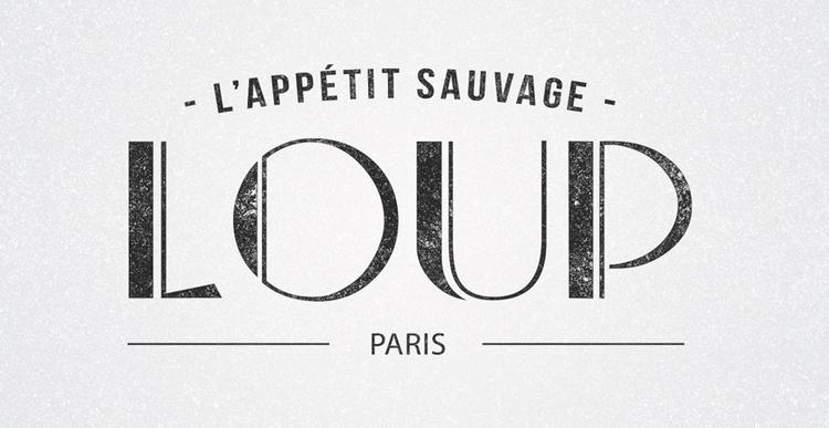 Logo LOUP - logotype - picturgency | ello